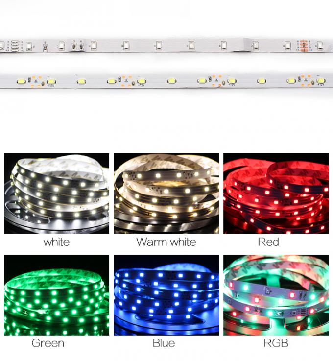 Programmable Rgb LED Mirror Lights 60 LEDS/M Led Strip For Mirror