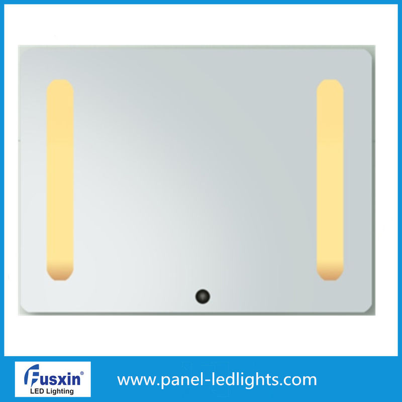 Backlit Vanity Square Led Hotel Wall Mirror 3 Years Warranty 3-12w
