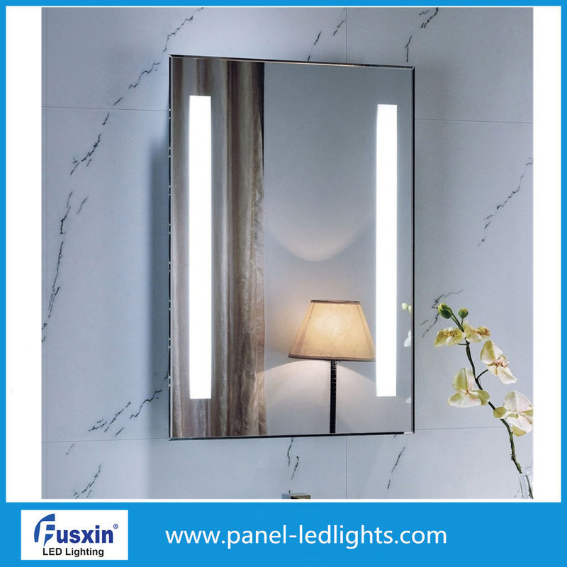 High Brightness Wall LED Backlit Mirror Low Power Consumption