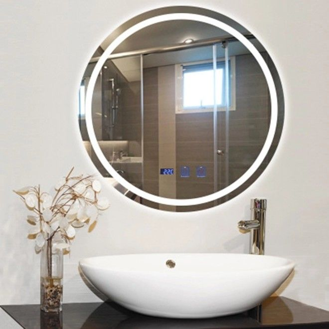 600mm Round Bathroom Mirror With Lights