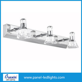 China Stainless Steel Makeup LED Mirror Lights / Electric Bathroom Mirror Light Fixtures factory