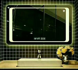 China Smart Touch Led Bathroom Vanity Mirror / Led Vanity Mirror With Bluetooth factory