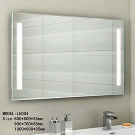 China Audio Smart Wall Mounted Hotel Bathroom Mirror Waterproof 3.5mm 5mm Thickness factory