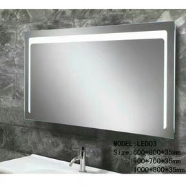 China 1200x800mm Anti-frog Mirror  Modern Iilluminated Backlit Bathroom Mirrors With Touch Sensor factory