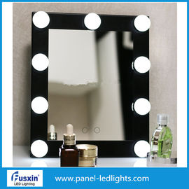 China Pure White Portable Led Vanity Mirror No Pollution AC 220-240V factory