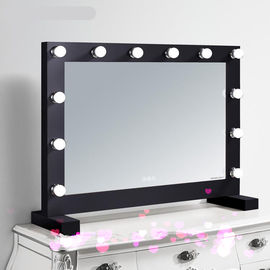China Bulbs Hollywood Vanity LED Illuminated Bathroom Mirror FOR Makeup factory