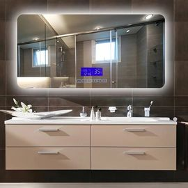 China Wall Mounted LED Bathroom Mirror With Radio Fingerprint - Free factory