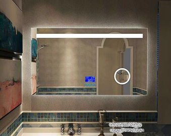 China Silver Wall Hanging Bathroom Led Behind Mirror 1200x900mm Rust Resistant factory