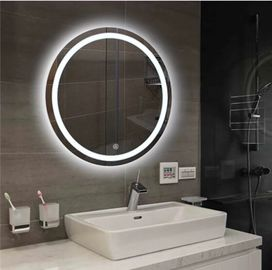 China 700MM Diameter LED Anti Fog Bathroom Mirror With Anti Corrosion Protection factory