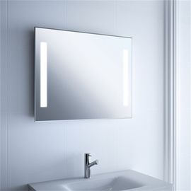 China Large Long Illuminated Lighted Bathroom Mirror Wall Mount For Home And Hotel Project factory
