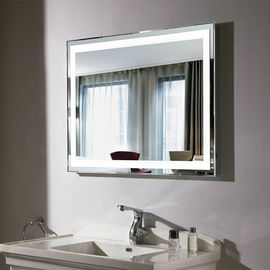China Bathroom LED Backlit Mirror Bluethooth Optional , Oval Light Up Mirror factory